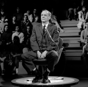 Photo: Marshall Mcluhan Photography Date: March 8, 1967.